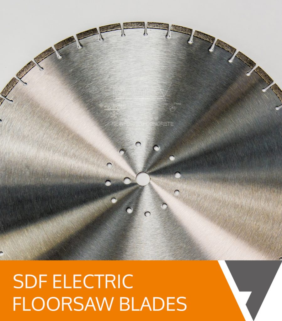 SDF Electric Floorsaw Blades