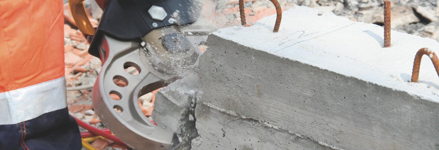 concrete cruncher